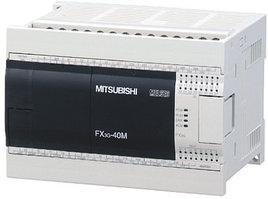 Логические модули FX3G-40MT-DSS Mitsubishi FX3G Series Logic Module, 12 → 24 V dc, 24 x Input, 16 x Output Without Display