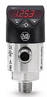 Датчики давления 836P-D2NFGB10PA-D4 Allen Bradley Gauge Pressure Sensor, IO-Link, 6.89bar Max Pressure Reading , 15 → 35 V dc, NPT 1/4, IP65, IP67