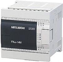 Логические модули FX3G-14MT-DSS Mitsubishi FX3G Series Logic Module, 12 → 24 V dc, 8 x Input, 6 x Output Without Display