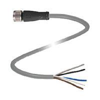 Датчики+кабели переключателя+соединители V15-G-10M-PUR Pepperl + Fuchs M12 5-Pin 10m Female Connector for use with Sensor/Actuator, 60 V ac/dc