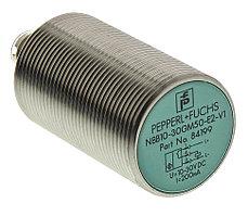 Индуктивные датчики положения NBB10-30GM50-E2-V1 Pepperl + Fuchs, M30 x 1.5, PNP Inductive Sensor 65mm Length, 10 → 30 V dc supply voltage , IP67