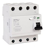 ВДТ, устройства защитного отключения 1492-RCDA4B40S 4P 40 A, Time Delay RCD Switch, Trip Sensitivity 100mA, DIN Rail Mount 1492-RCDA