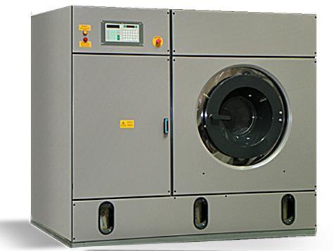 Профессиональная машина сухой химической чистки Прохим П25-321-222, загрузка 25 кг, для кожи