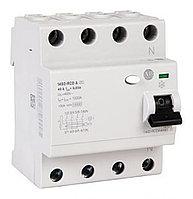 ВДТ, устройства защитного отключения 1492-RCDA4B63 4P 63 A, RCD Switch, Trip Sensitivity 100mA, DIN Rail Mount 1492-RCDA