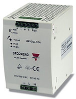 AC-DC источники питания для монтажа на DIN-рейку или на шасси SPD242401B Switch Mode DIN Rail Power Supply, 240W, 24V dc/ 10A