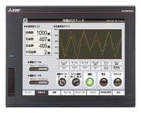 Сенсорные дисплеи для HMI-интерфейса 281859 Mitsubishi Touch Screen HMI 12.1 in TFT 800 x 600pixels