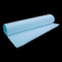 Простынь одноразовая на кушетку в рулоне, 80смх200см, СМС, 100шт/рул. голубая