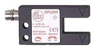 Фотоэлектрические датчики OPU200 ifm electronic Optical Photoelectric Sensor 0.3 (Smallest) mm Detection Range NPN, PNP IP67 Fork Style OPU200