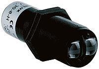 Фотоэлектрические датчики GLV30-8-2500/47/73C Pepperl + Fuchs Diffuse Photoelectric Sensor 100 2500 mm Detection Range PNP IP67 Barrel Style