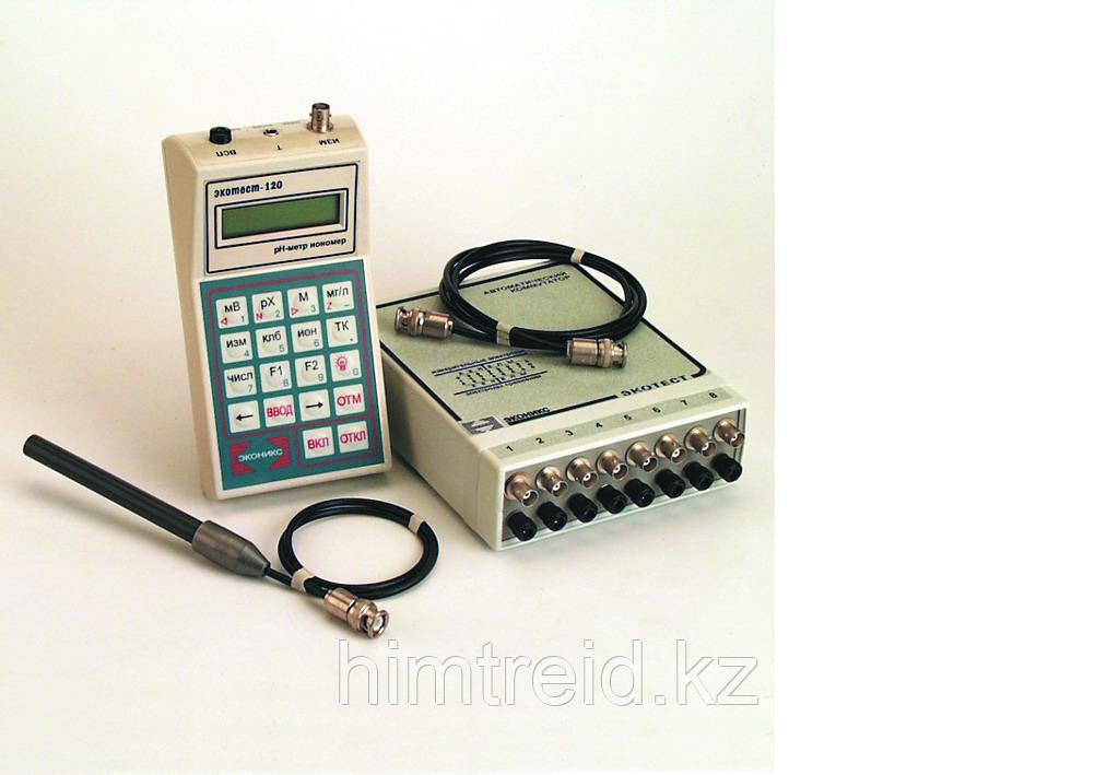 """Высокоточный """"Экотест-120-и-Проф"""" с фторидным электродом"""