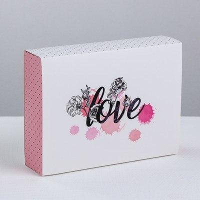 Коробка для сладостей Love, 20 × 15 × 5 см