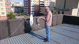 Установка и настройка спутниковой антенны 60 см. производство Россия ( Супрал  ). НА спутник Express-AT1 @ 56° для приема цифрового сигнала спутникового телеоператора НТВ + восток.