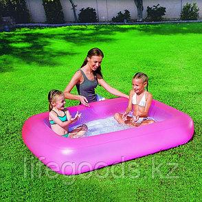 "Детский надувной бассейн ""Аквабэйби"" (розовый)165х104х25см, Bestway 51115, фото 2"