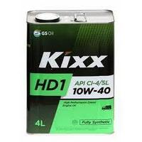 Моторное масло KIXX HD1 10w40 4литра
