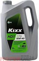 Моторное масло KIXX HD1 10w40 6литров